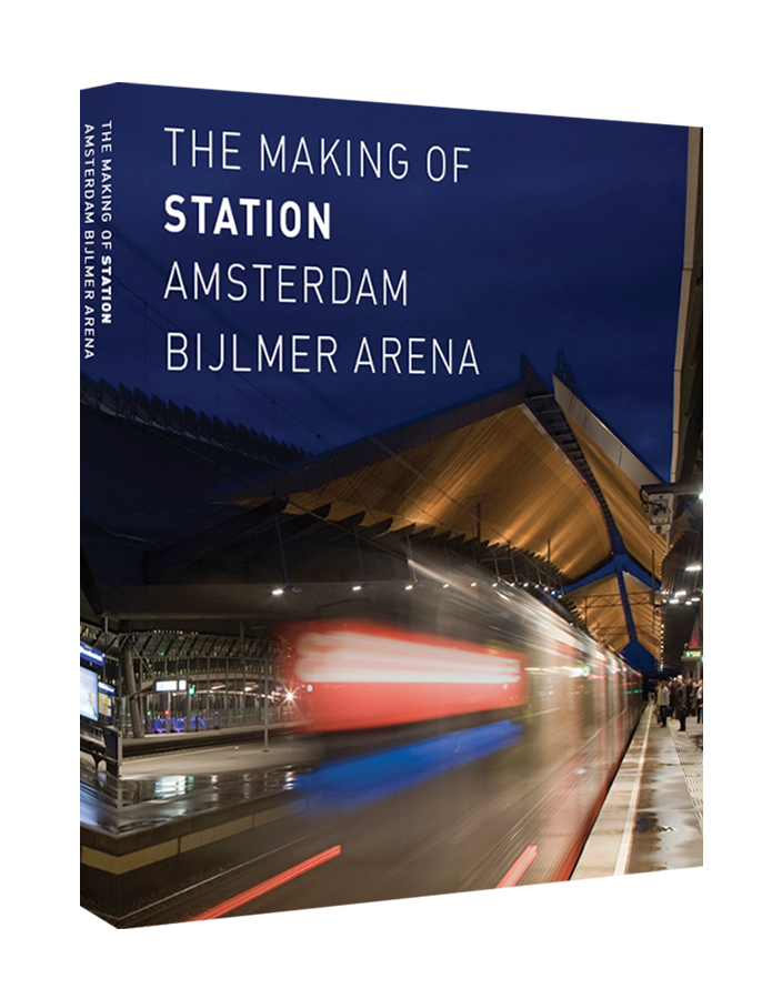 Making of Amsterdam station